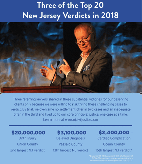 Top 20 NJ VERDICTS